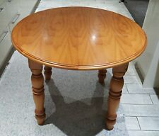 Beautiful Quality Solid Wood Round Extendable Dining Table & 4 Chairs
