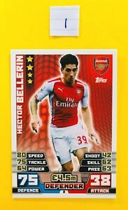 Topps Match Attax Extra 2014/2015 (14/15) - Rookie Cards (RC)