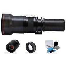 Vivitar 650mm-2600mm Telephoto Zoom Lens Olympus 4/3 E-420, E-520, E-30, E-620