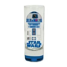 Disney R2D2 Droid Colored Bottom Collection Glass Shotglass Blue Shot Glass