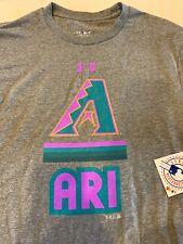 Arizona Diamondbacks Men's Under Armour Throwback T-shirt Gray Medium New MLB M