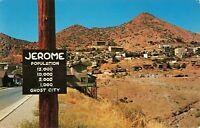 Postcard Largest Ghost City in America Jerome Arizona