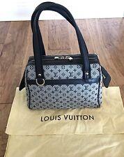 Authentic Louis Vuitton monogram mini Josephine handbag NAVY