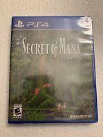 Secret of Mana Sony PlayStation 4 PS4 Brand New Factory Sealed