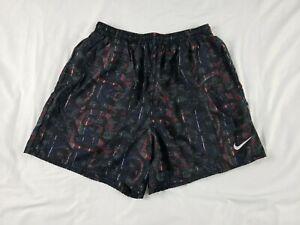Men's Vintage Retro Nike Swimming Swim Trunks XL Shorts
