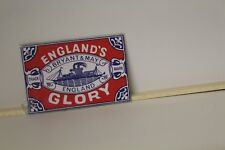 DOLLS HOUSE ( Retro  Metal Sign =  England Glory Matches