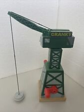 THOMAS AND FRIENDS CRANKY CRANE Retired Wood Excellent Used Condition EUC