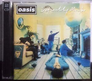 Oasis - Definitely Maybe. 1994 CD`s x 2. Epic 4773185  SAMP639 Rock