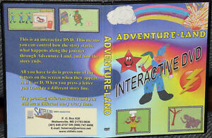 INTERACTIVE DVD FOR YOUNG CHILDREN