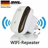 EU Booster WLAN Repeater-300 Mbit/s WLAN Signal Verstärker Access Point Wifi