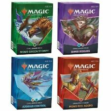 Challenger cubiertas 2021 Conjunto de 4-MTG Magic The Gathering-Preventa envío rápido!