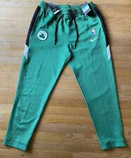 Boston Celtics Nike Mens Therma Flex Green On Court Pants $110 Extra Large XL