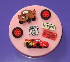 DISNEY CARS SILICONE MOULD FOR CAKE TOPPERS CHOCOLATE, CLAY ETC