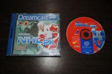 Jeu NHL 2K sur SEGA DREAMCAST (CD remis à neuf) (pas de notice)