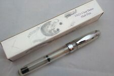 Noodlers Clear Demonstrator Ahab Piston Flex Nib Fountain Pen