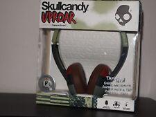 NEW SKULLCANDY UPROAR Tap Go On-Ear Stereo Headphones w/Mic+Remote Headset-Lime