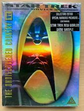 Star Trek 6 DVD VI 1991 Undiscovered Country Sci-Fi Film Movie in Foil Box