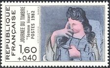 France 1982 Stamp Day/Picasso/Art/Artists/Paintings/Modern/People 1v (n44194)