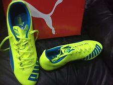 Mens Puma Evospeed 5.4 AG Leather FG Football Boots Size 10.5 UK