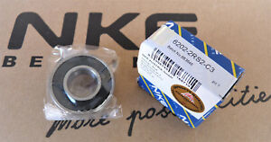 Rillenkugellager / Deep Groove Ball Bearings  6202-2RS2-C3 NKE [15x35x11]