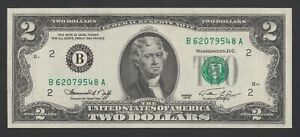 United States of America 2 Dollars 1976  UNC P. 461  Banknotes, Uncirculated
