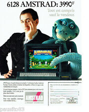 PUBLICITE ADVERTISING 046  1988  Amstrad 6128  ordinateur jeu Barbarian