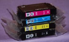 Genuine EPSON 200 Black & (M,C,Y) Colors Ink Cartridge T200120 - New Other