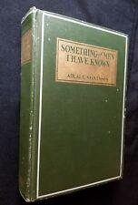 Something of Men I Have Known by Adlai E. Stevenson, Sr.  1st Edition HC  rare