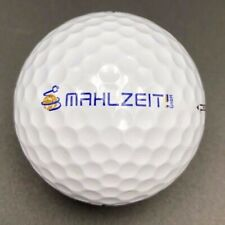 Mahlzeit  Logo Golf Ball (1) TaylorMade Penta TP3  Preowned