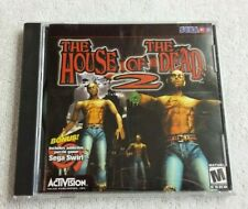 The House of the Dead 2 (PC Windows 95/98/ME CD-Rom) Game in case w manual Sega