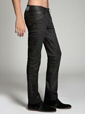 Guess Men's Fairfax Skinny Jeans In Espionage Wash Black Coated  Size 32