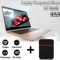 """14"""" 16:9 Touch Laptop Notebook PC Screen Tempered Glass Screen Protector Film"""