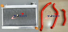 High-Performance Aluminum Radiator + hose for Honda TRX250R TRX250 1988 1989 88