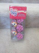 My Little Pony MLP 12 Shower Curtain Hooks Metal 2005 New NIP