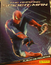 The amazing Spiderman Panini sticker Album  + 25 ENVELOPES ARGENTINA 2012