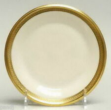 Lenox ARISTOCRAT Gold Encrusted Band on Edge Bread & Butter Plates