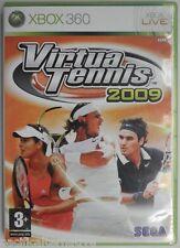 OCCASION complet jeu VIRTUA TENNIS 2009 pour xbox 360 game francais sport nadal