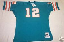 NEW Men's MITCHELL AND NESS Miami Dolphins Bon Griese Jersey SZ 60