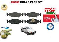 FOR FORD ESCORT MK3 + ESTATE CABRIO 1980-9/1984 NEW FRONT BRAKE PADS SET