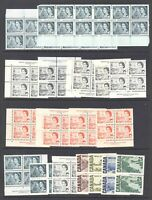 CANADA MULTIPLES CENTENNIAL SPECIALIST COLLECTION LOT VF MINT NEVER HINGED