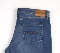 Tommy Hilfiger Damen Gerades Bein Jeans Stretch Größe W33 L32 APZ663