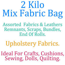 Upholstery Craft Fabric Remnants Bundles