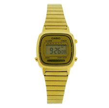 Casio Classic LA-670WGA Gold Stainless Steel Watch for Women