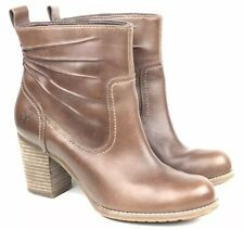 Womens Timberland Leather Tan Brown Chelsea ankle boots size 7.5 EU 41