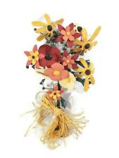 Multi-Color Resin Flower Bouquet Wall Hanging Decor