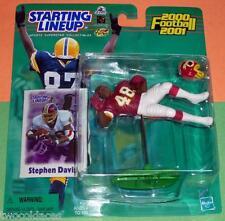 2000 STEPHEN DAVIS Washington Redskins Rookie - low s/h - sole Starting Lineup