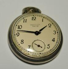 Vintage Westclox Pocket Ben open face pocket watch repair / parts