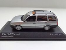 VW Golf 3 variant by Minichamps in 1:43 Silver NEW 400055510 Volkswagen