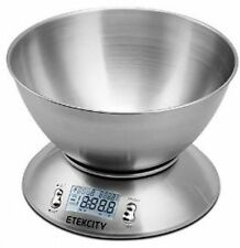 Etekcity Digital Kitchen Pastry Dessert Bakery Chef Food LCD Weight Scale