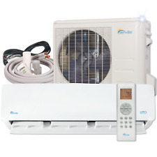 Senville 9000 BTU Ductless Air Conditioner with Mini Split Heat Pump 110V